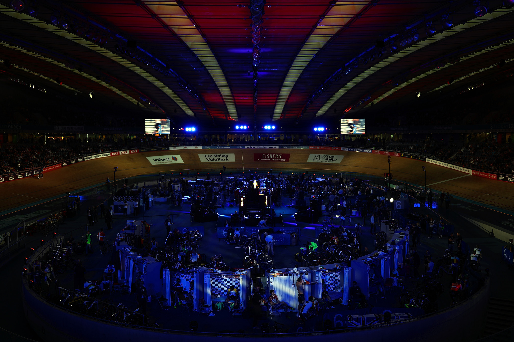Track cycling during the 2022 Commonwealth Games could be staged 135 miles away from Birmingham at the velodrome built for the 2012 Olympic and Paralympic Games in London ©Getty Images