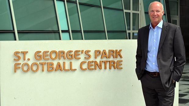 Chris Earle has begun work as the Head of FA Education ©FA