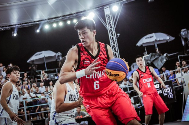 China are seeded second in the men's event at the FIBA 3x3 Asia Cup currently underway in Shenzen ©FIBA