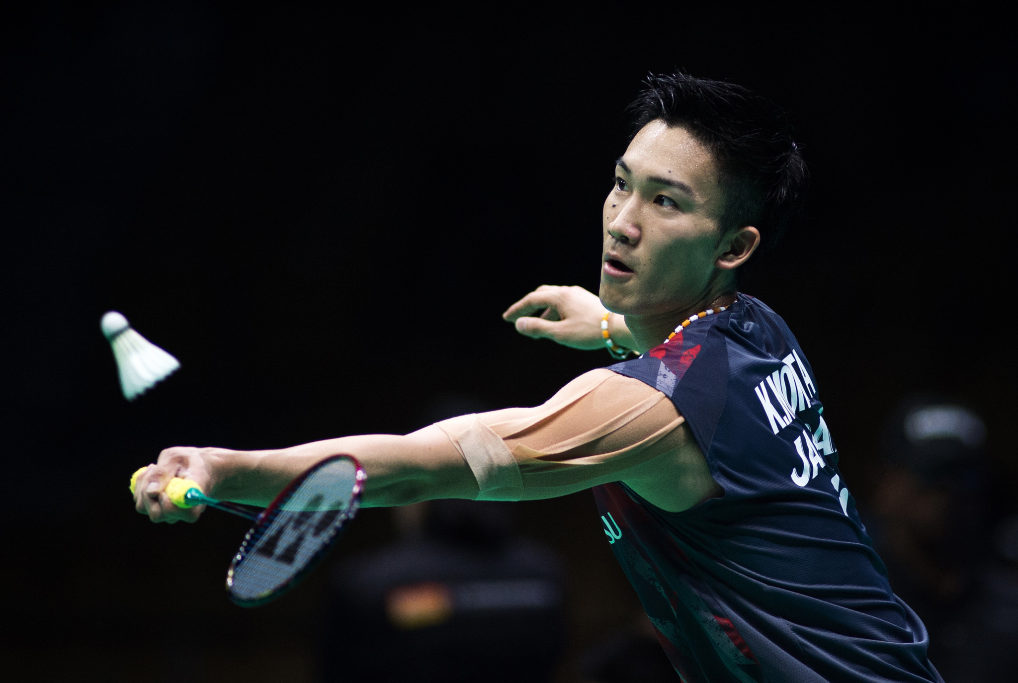 Japan's Kento Momota has moved to within one win of his maiden continental title after beating Malaysia's Lee Chong Wei at the Badminton Asia Championships ©Getty Images
