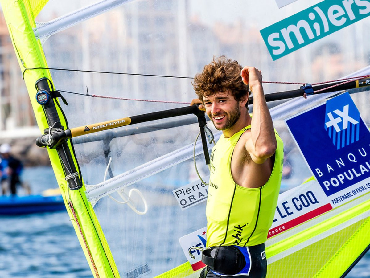 Le Coq among home winners at Sailing World Cup in Hyères