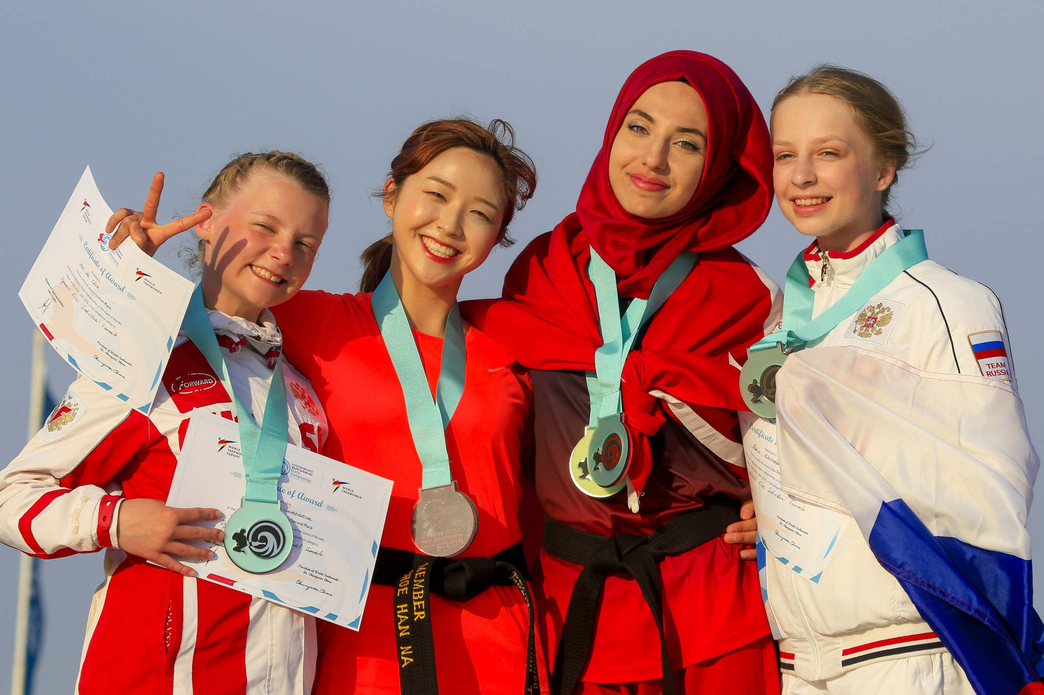South Korea dominate final day of World Taekwondo Beach Championships