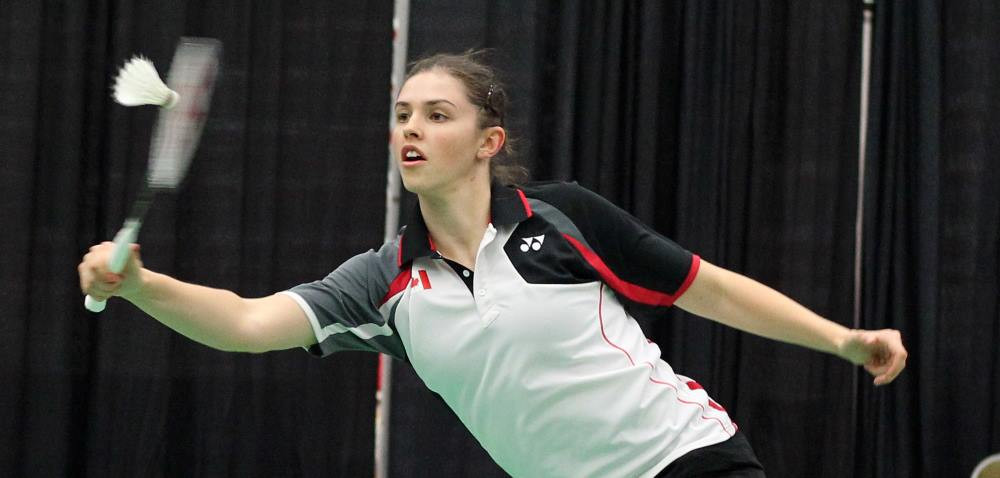 Canada's Rachel Honderich is one win away from glory at the Pan American Badminton Championships ©BWF