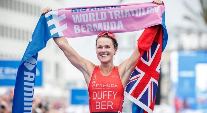 Duffy takes ITU World Triathlon Series title on home soil