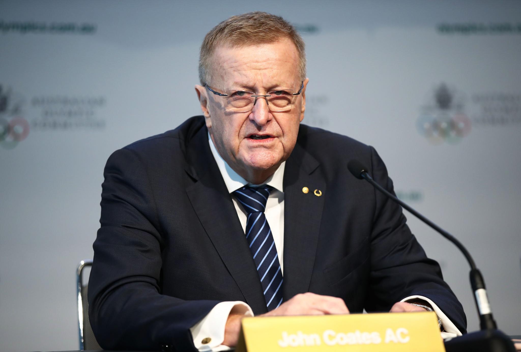 Australian Olympic Committee President Coates slams political rivals in feisty AGM address