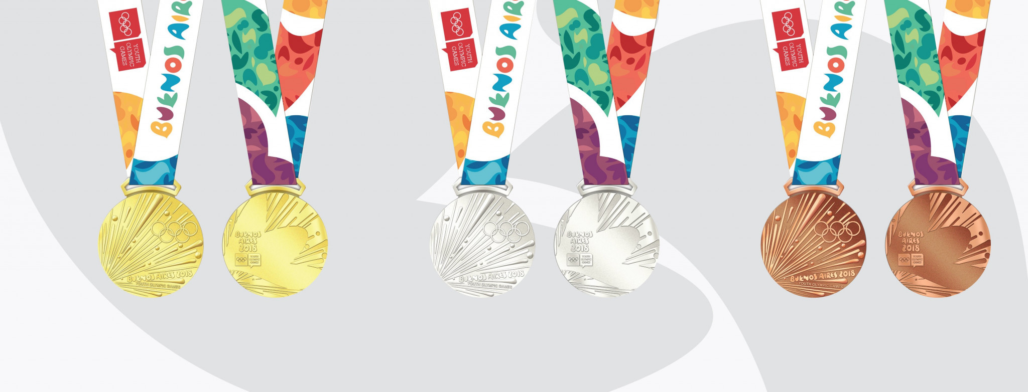Design of medals to be awarded at Buenos Aires 2018 completed