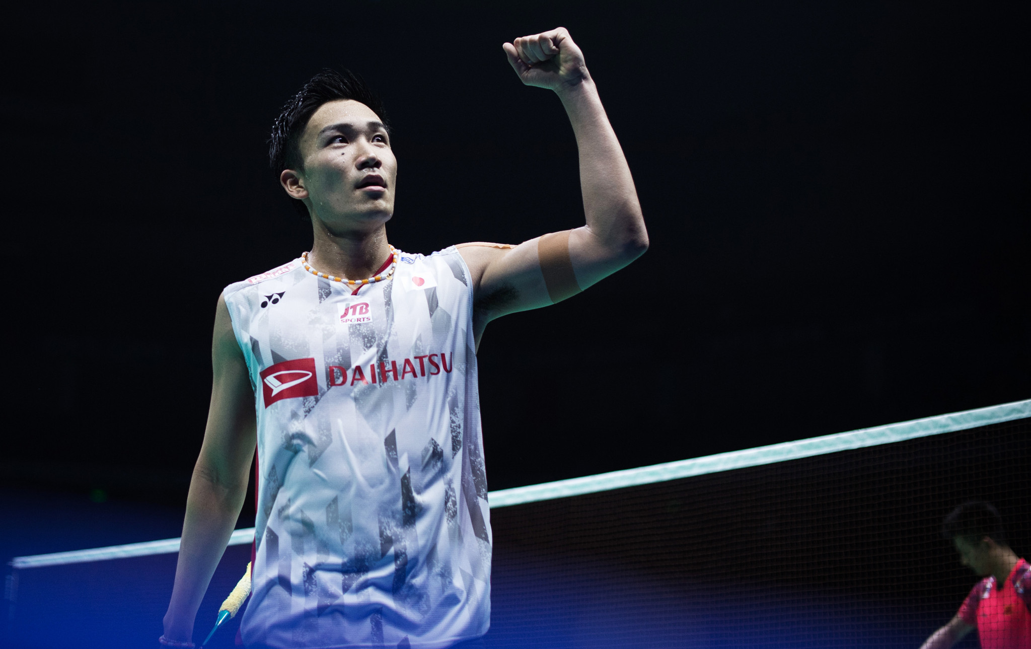 Japan's Kento Momota sealed victory at the Badminton Asia Championships after beating last year's winner Chen Long in today's final in Chinese city Wuhan ©Getty Images