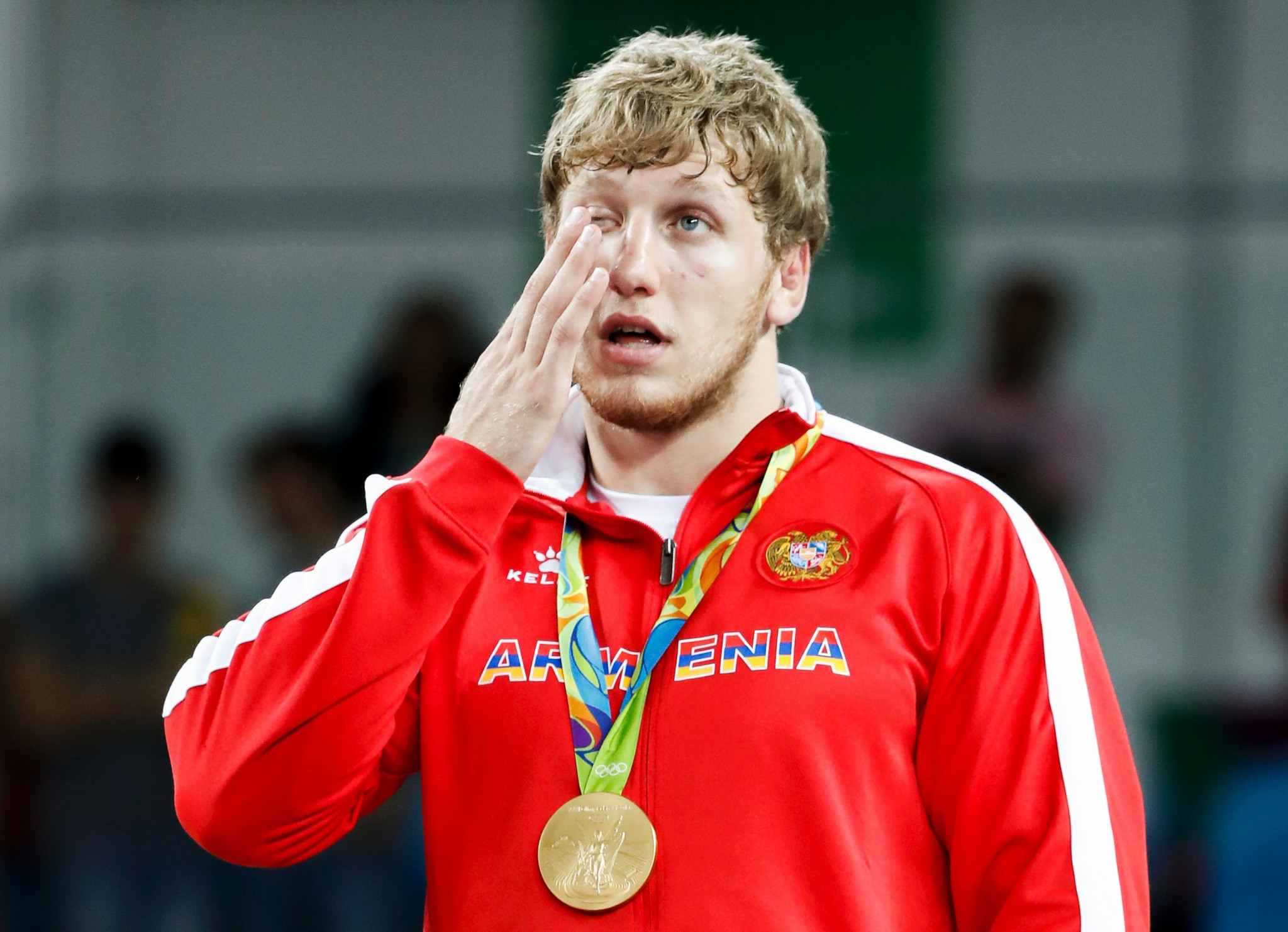 Artur Aleksanyan is one of several Olympic medallists competing in Kaspiysk ©Getty Images