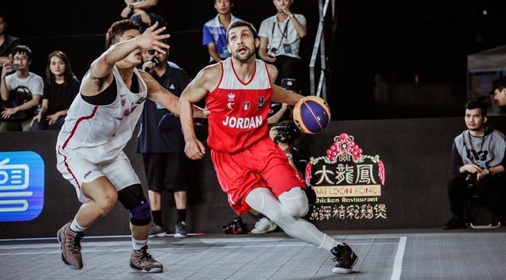 Jordan were unbeaten on the opening day of the main draw in the FIBA 3x3 Asia Cup ©FIBA