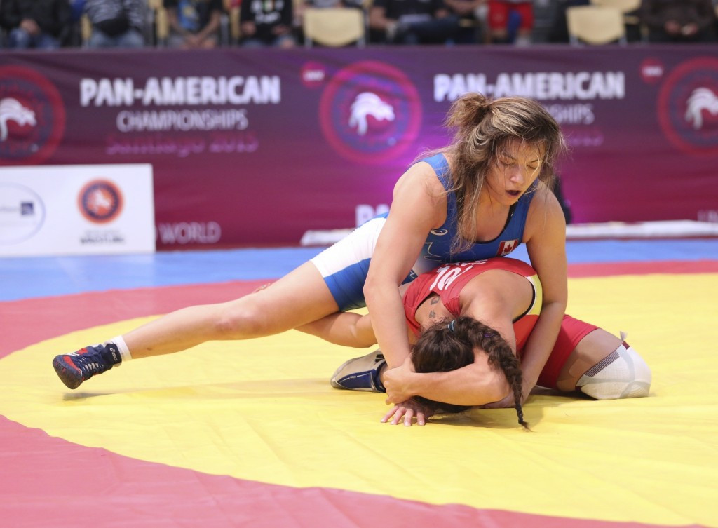 Canadian women claim team title at Pan American Wrestling Championships