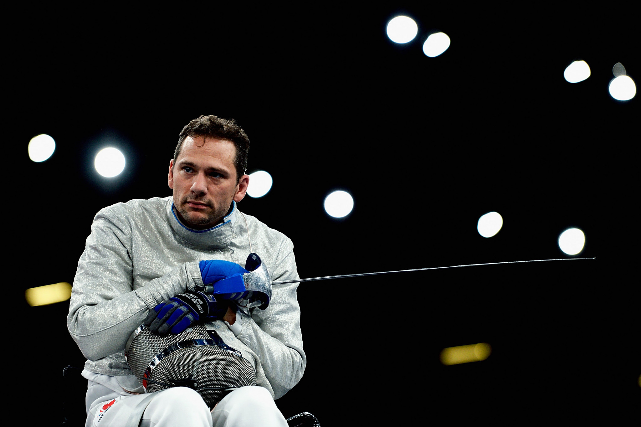 Pierre Mainville was one of two Canadian gold medallists on the final day of the IWAS Wheelchair Fencing World Cup in Montreal ©Getty Images