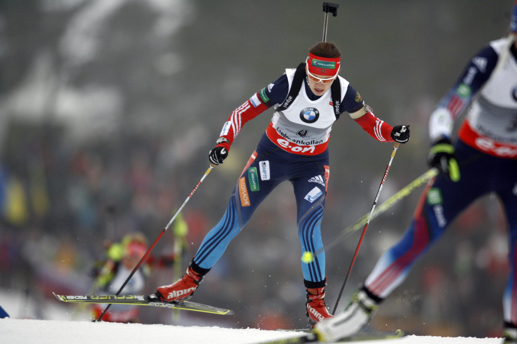 Olga Vilukhina is one of the three Russian biathletes that have brought a libel case against Grigory Rodchenkov ©Getty Images