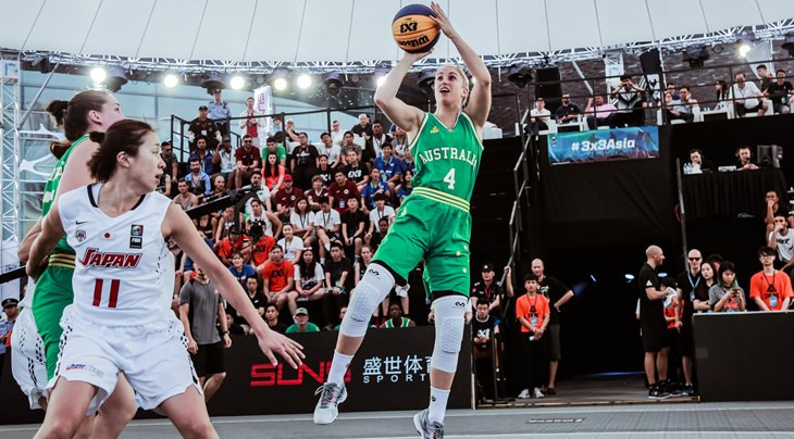 Defending champions Australia won their two pool games today to continue their domination of the women's event at the FIBA 3x3 Asia Cup in Shenzhen ©FIBA