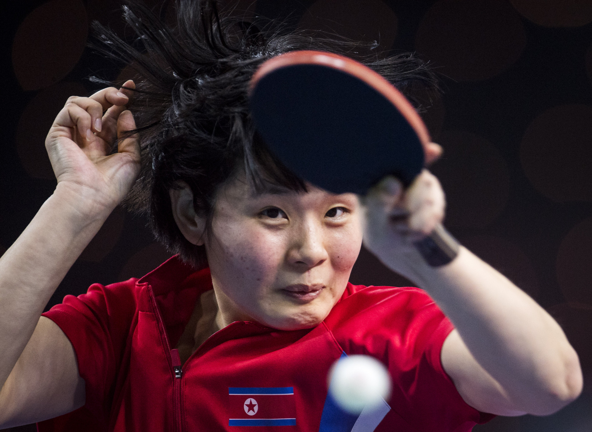 Cha Hyo Sim helped North Korea continue their perfect start to the women's event at the ITTF World Team Championships in Halmstad ©Getty Images