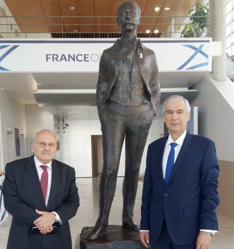 French Olympic Committee hold talks with Belarus Ambassador in Paris about European Games
