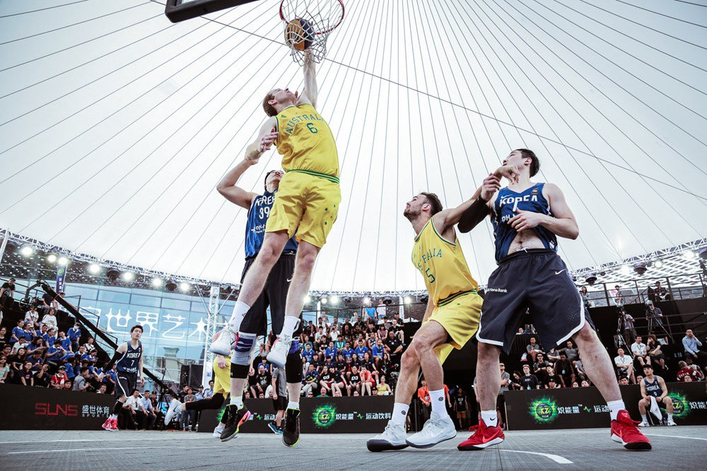Australia beat defending champions Mongolia in a thrilling men's final to claim the 3x3 Asia Cup crown ©Basketball Australia