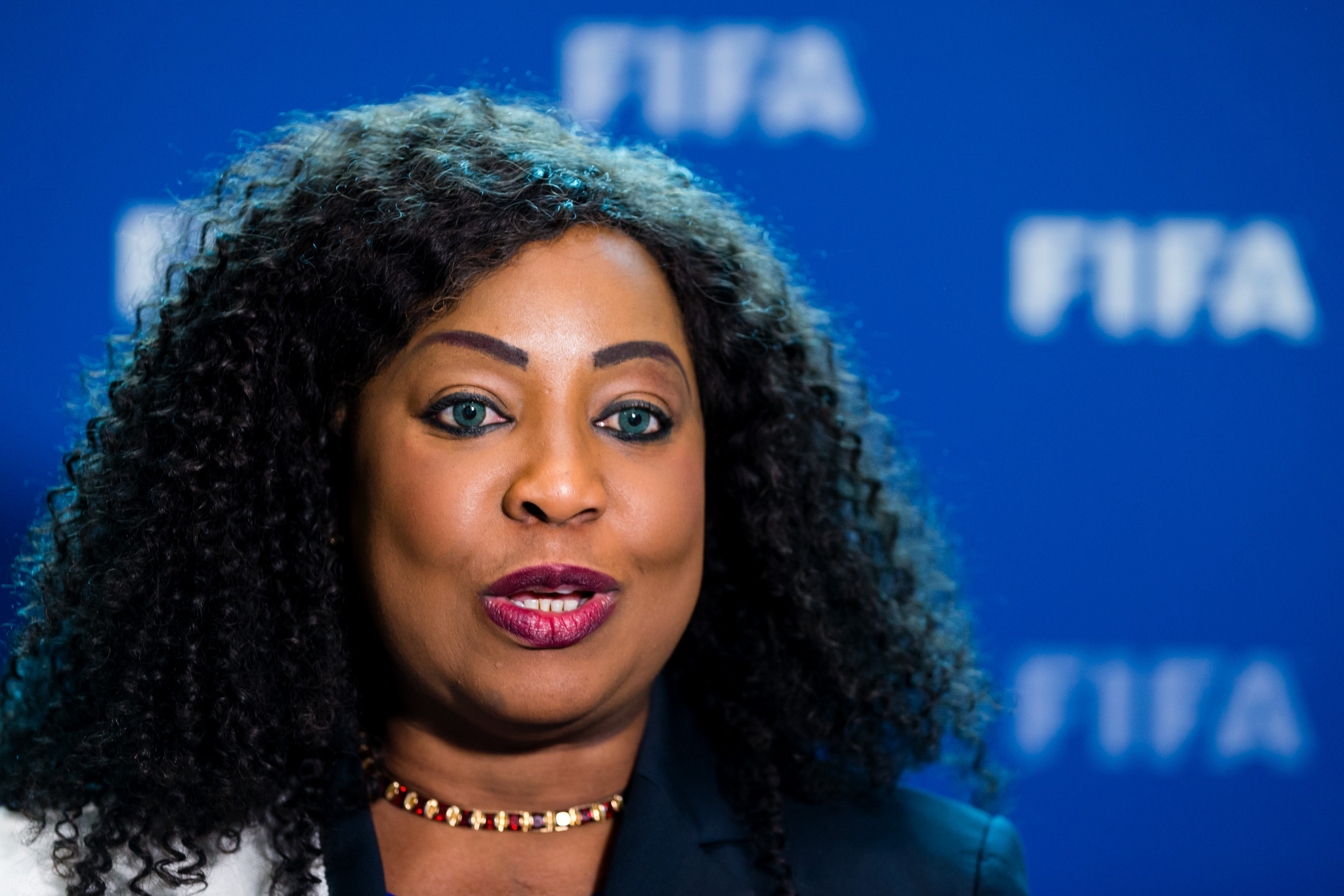 FIFA secretary general Fatma Samoura revealed in a letter that delegates attending this year's Congress in Moscow would not receive their $250 daily allowance in cash ©Getty Images