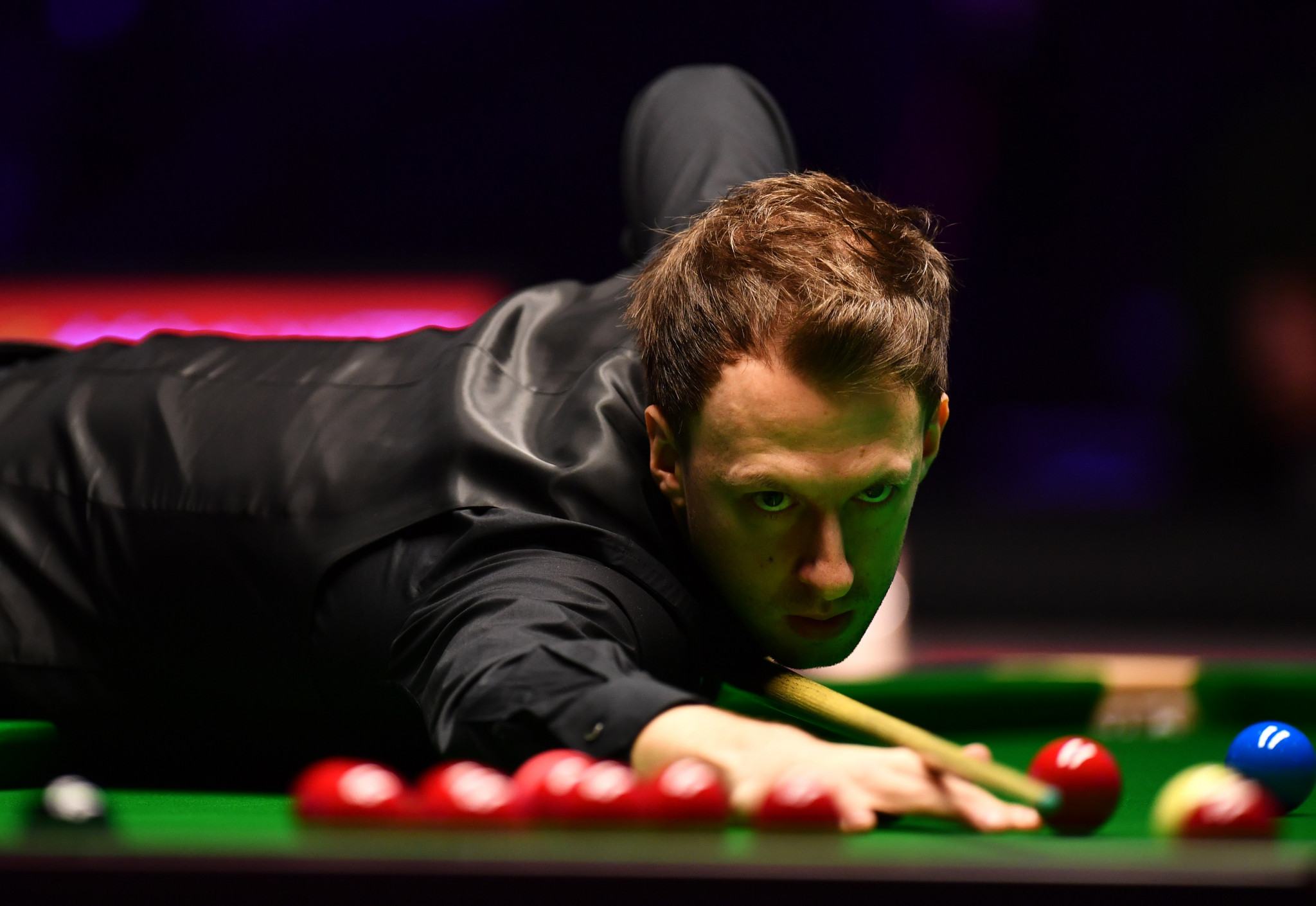 England's Judd Trump looks set for a last four spot in the World Snooker Championship at the Crucible in Sheffield ©Getty Images