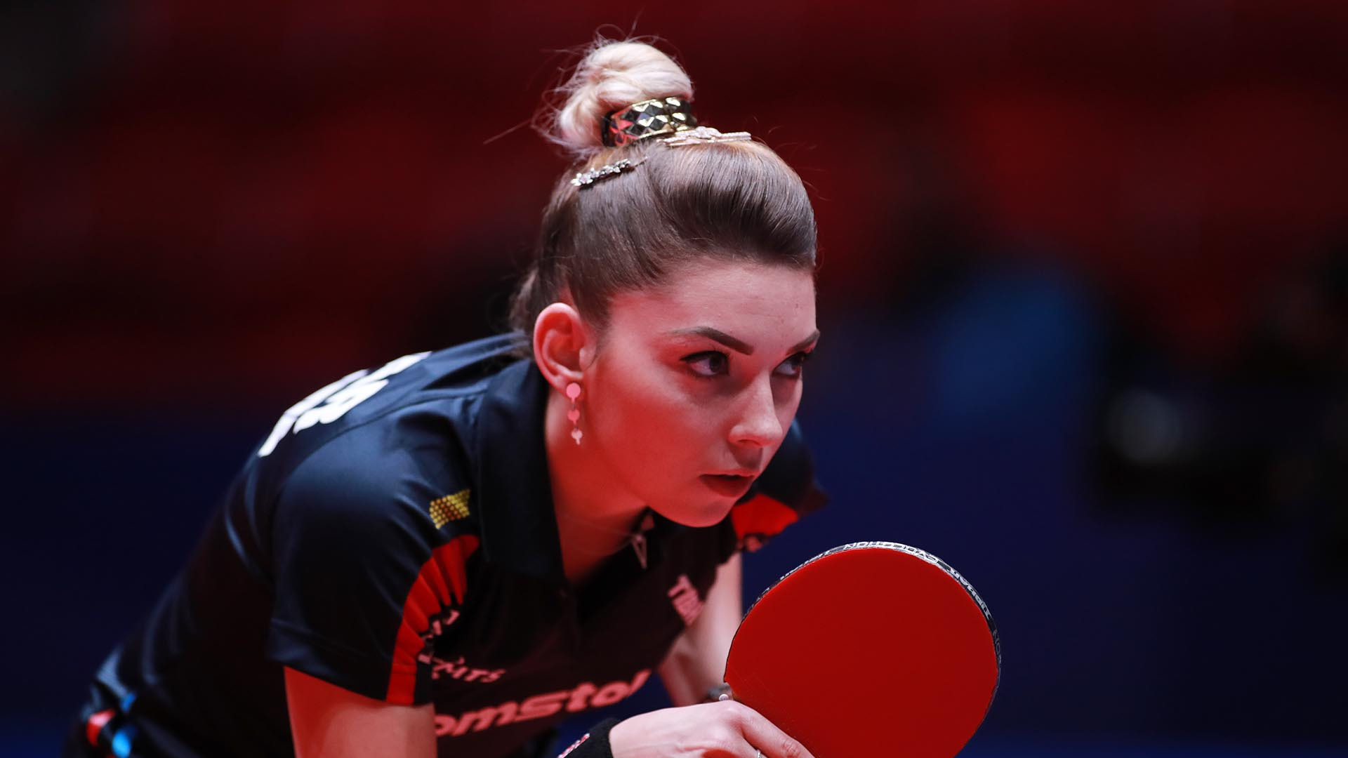 Romania beat North Korea to win their group in the women's tournament ©ITTF
