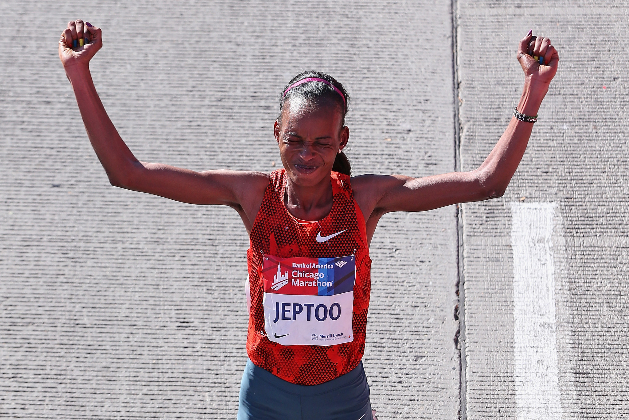 Rita Jeptoo is among other high-profile Kenyan athletes to have failed a drugs test in recent years ©Getty Images