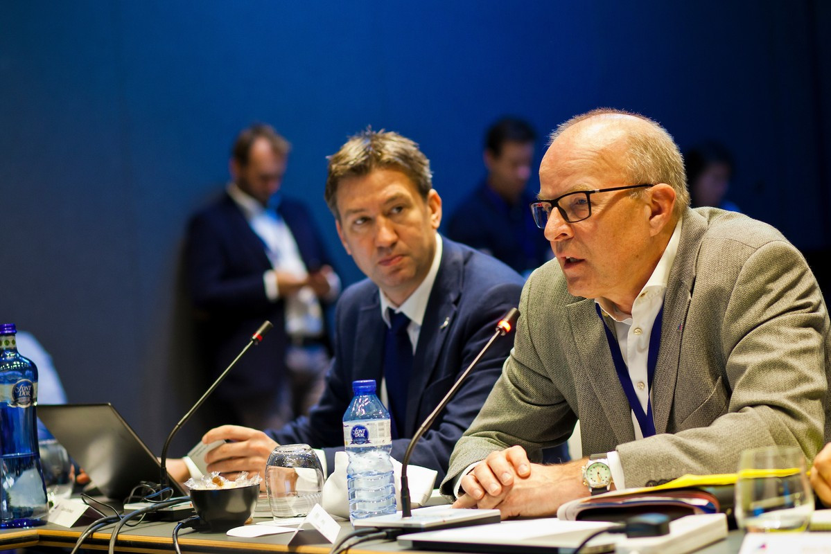 Kim Andersen, right, has defended the process to review sailing events ©Getty Images
