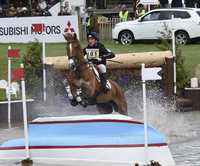 New world number one Townend looking to clinch Rolex Grand Slam at Badminton Horse Trials
