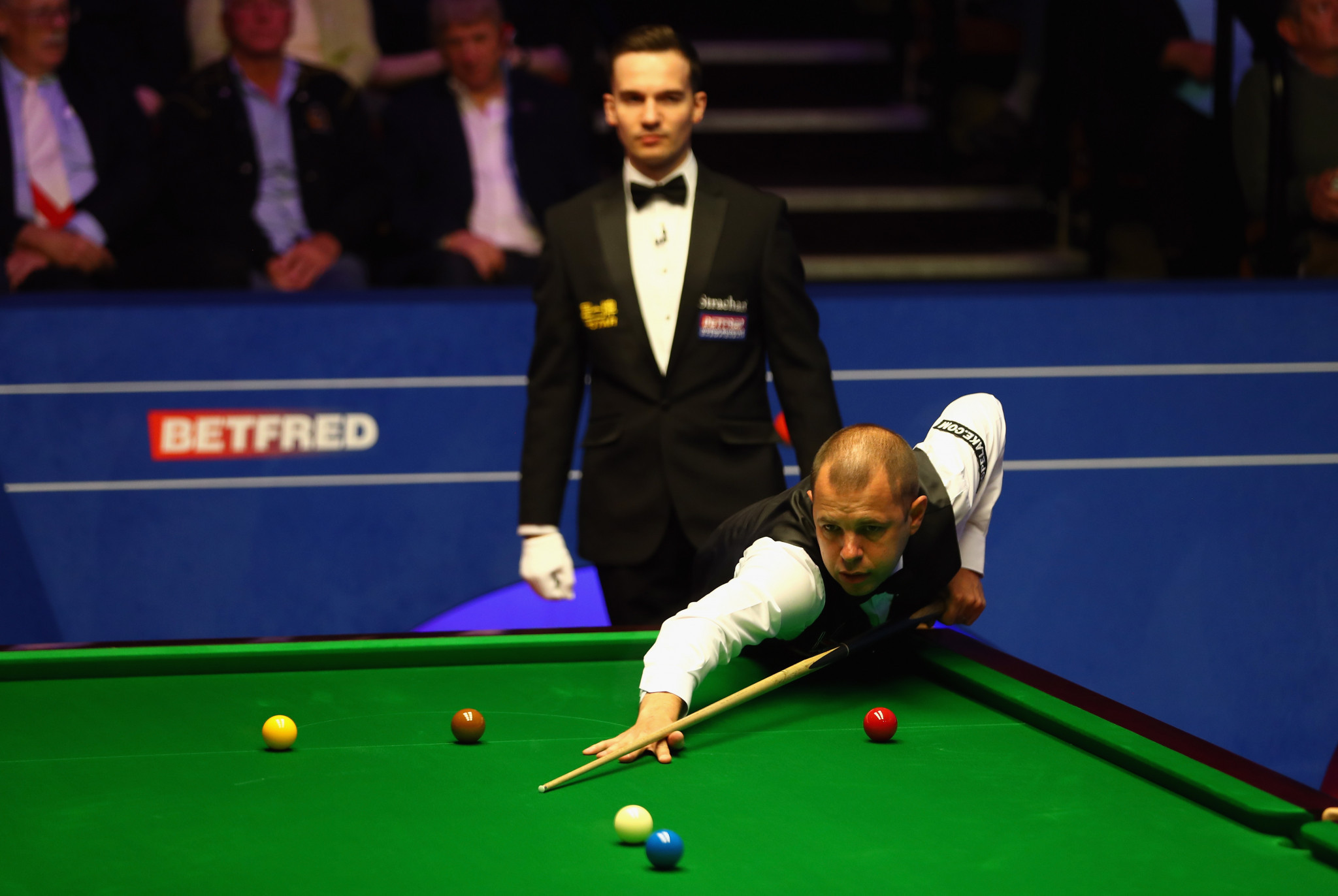Barry Hawkins advanced to the semi-finals of the World Snooker Championship ©Getty Images