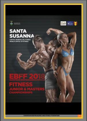 Santa Susanna set to host European Bodybuilding and Fitness Championships