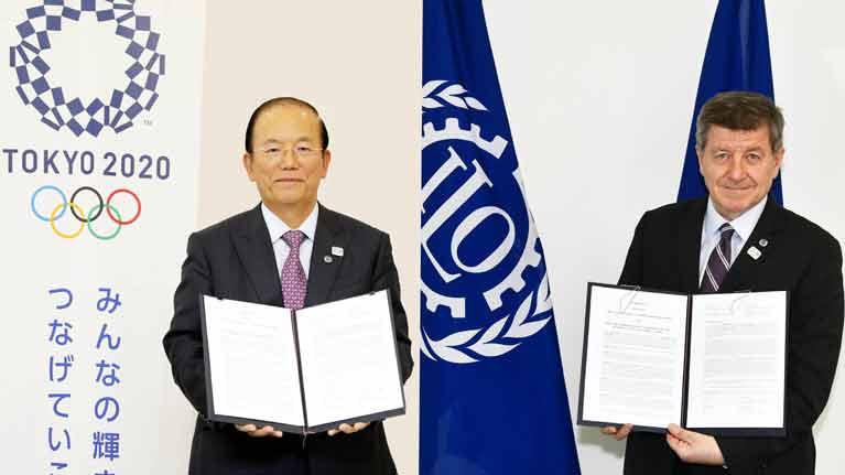 Tokyo 2020 sign Memorandum of Understanding with International Labour Organization