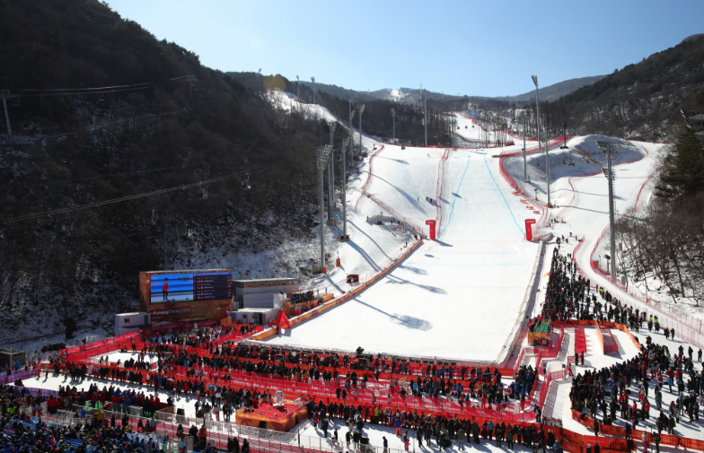 The Jeongseon Alpine Centre is one of three Pyeongchang 2018 venues where legacy plans have not been confirmed ©Getty Images