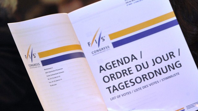 The welcome evening will be part of this month's FIS Congress ©FIS