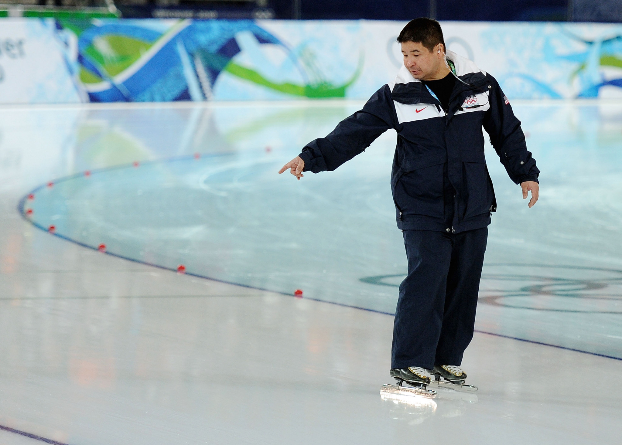 Ryan Shimabukuro previously coached three US Speedskating teams at the Olympic Games ©Getty Images