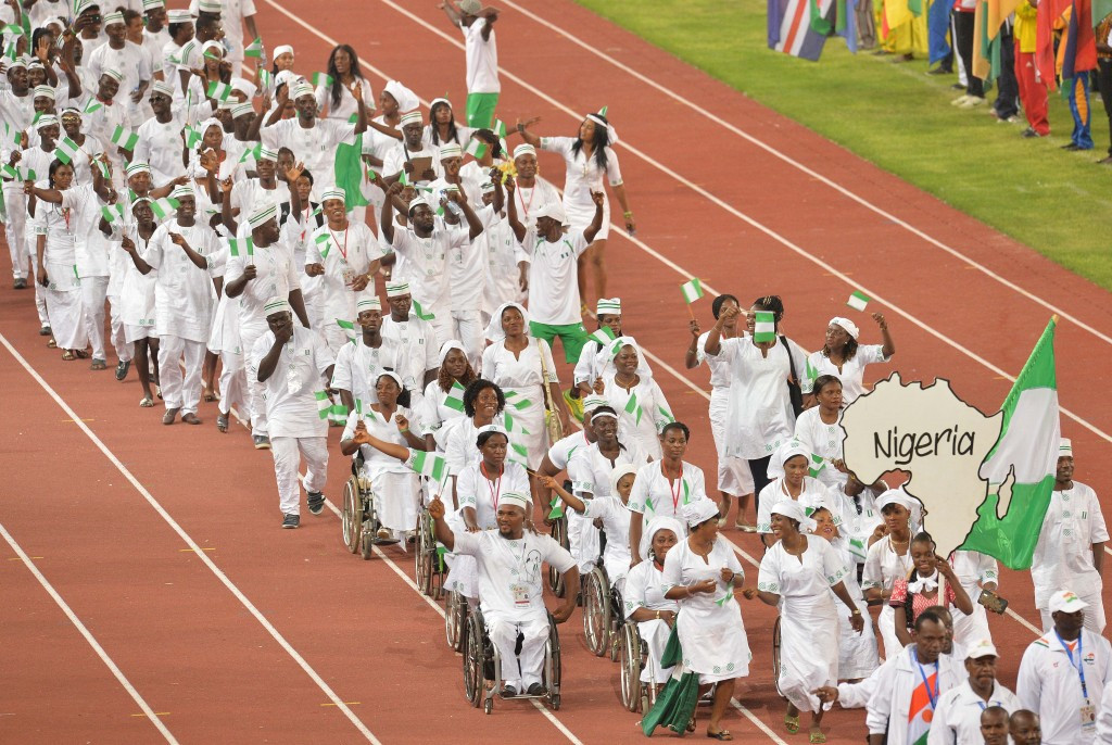 Nigeria claimed gold in the women's time trial cycling