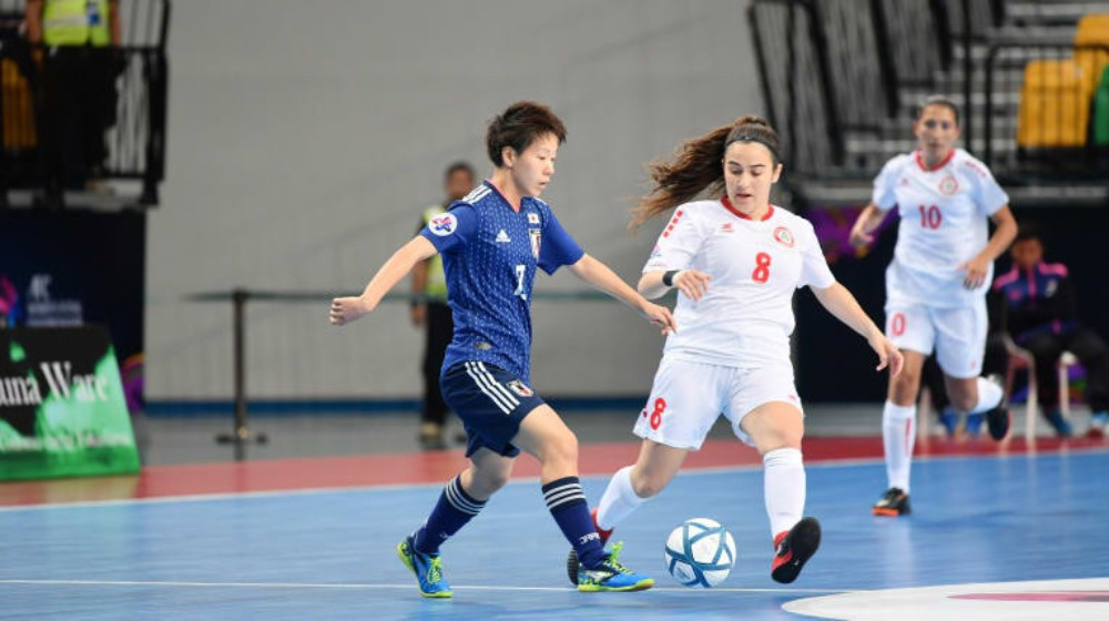 Japan claimed victory against Lebanon in Group C ©AFC