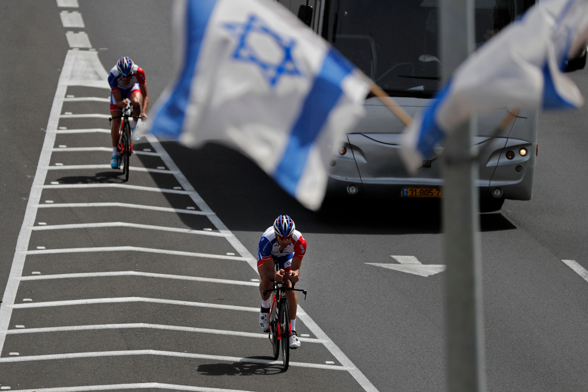 Jerusalem is set to stage the Big Start of the Giro d'Italia amid controversy