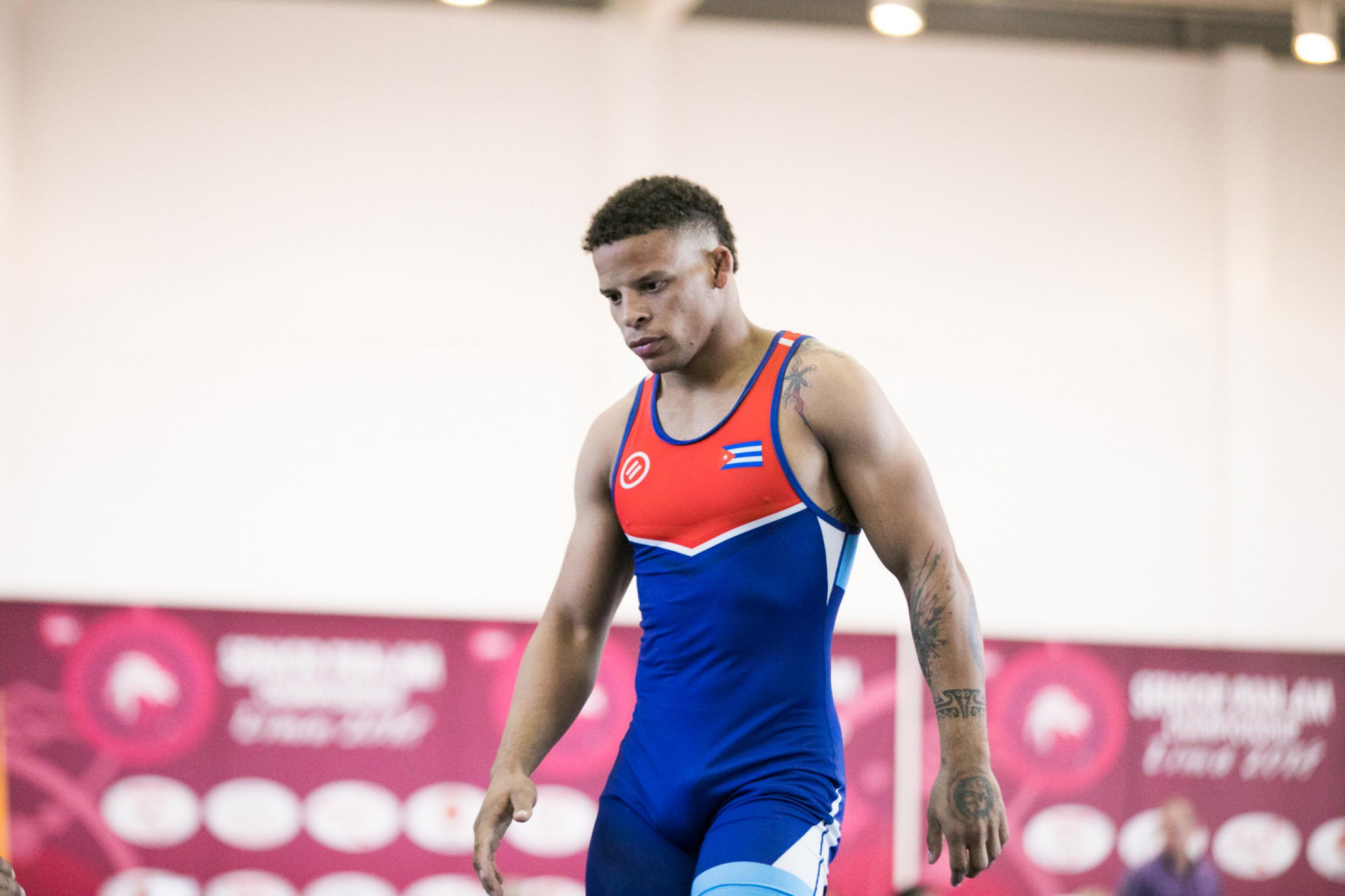 Ismael Borrero Molina claimed gold on the opening day of competition ©UWW