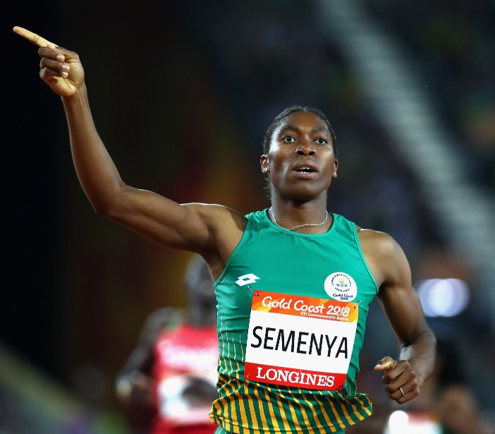 South African authorities have ralled to Caster Semenya's support in the wake of the IAAF ruling on hyperandrogenism ©Getty Images