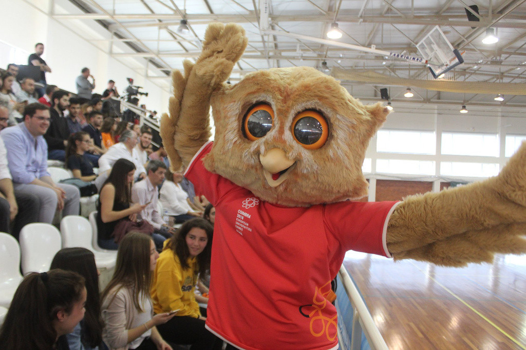 A mascot has been unveiled for the European Universities Games ©European Universities Games