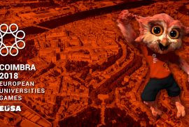 Owl mascot unveiled for European Universities Games in Coimbra