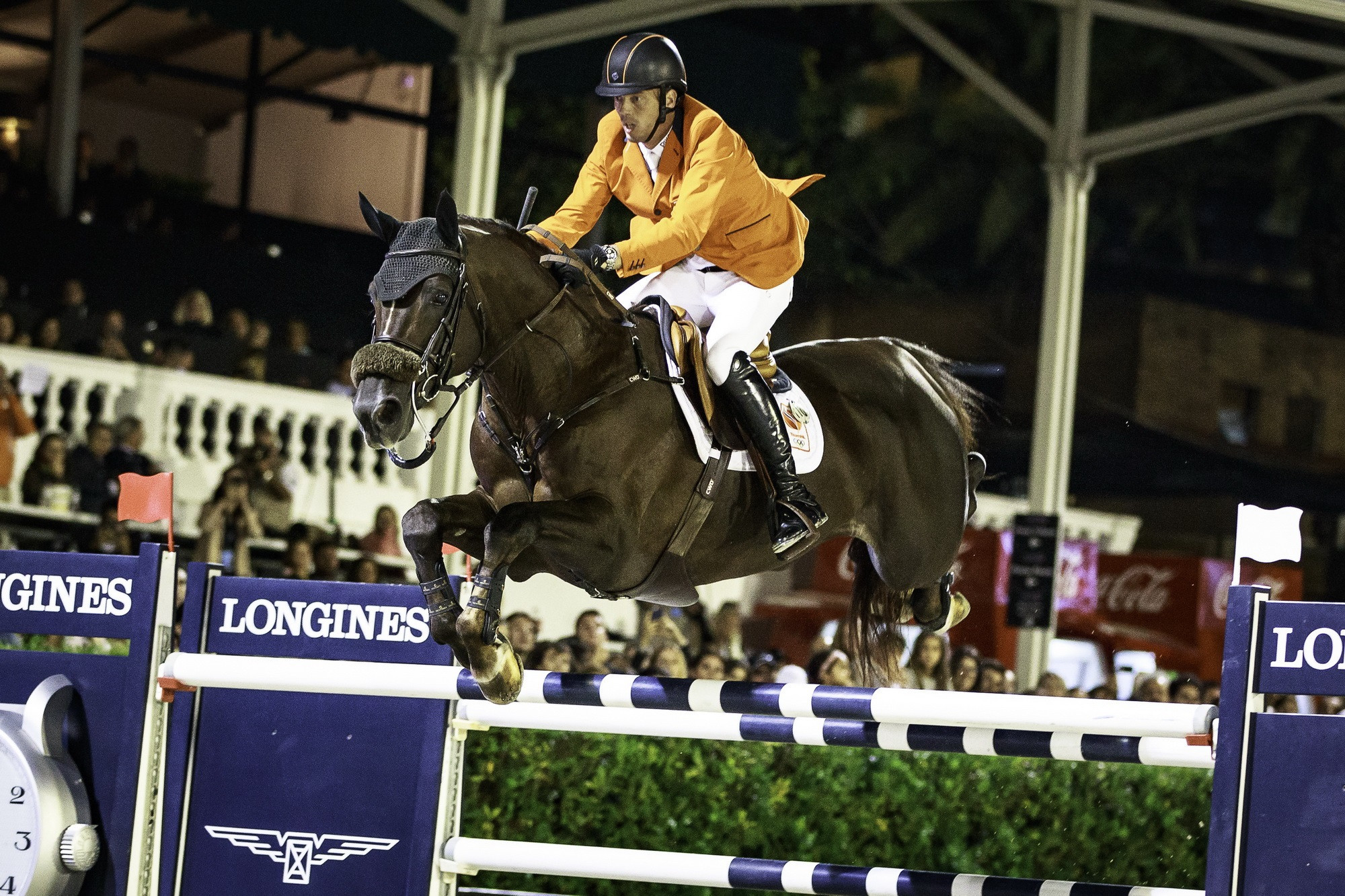 The Netherlands Harrie Smolders has been announced as the latest world number one ©FEI