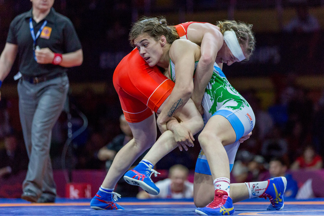 Bulgaria take two gold medals in concluding women's finals at European Wrestling Chamionships in Russia