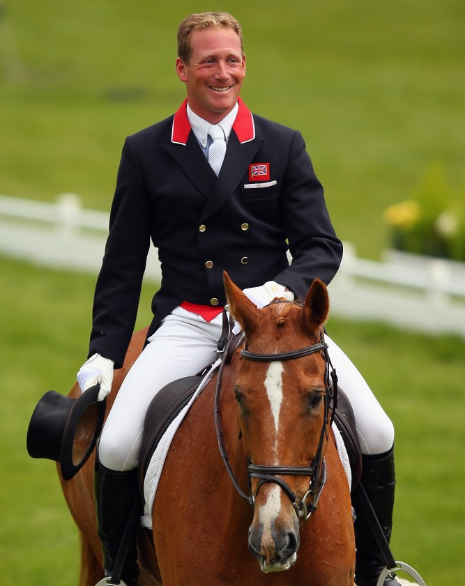 Townend's Grand Slam hopes high as produces superb dressage win at Badminton Horse Trials
