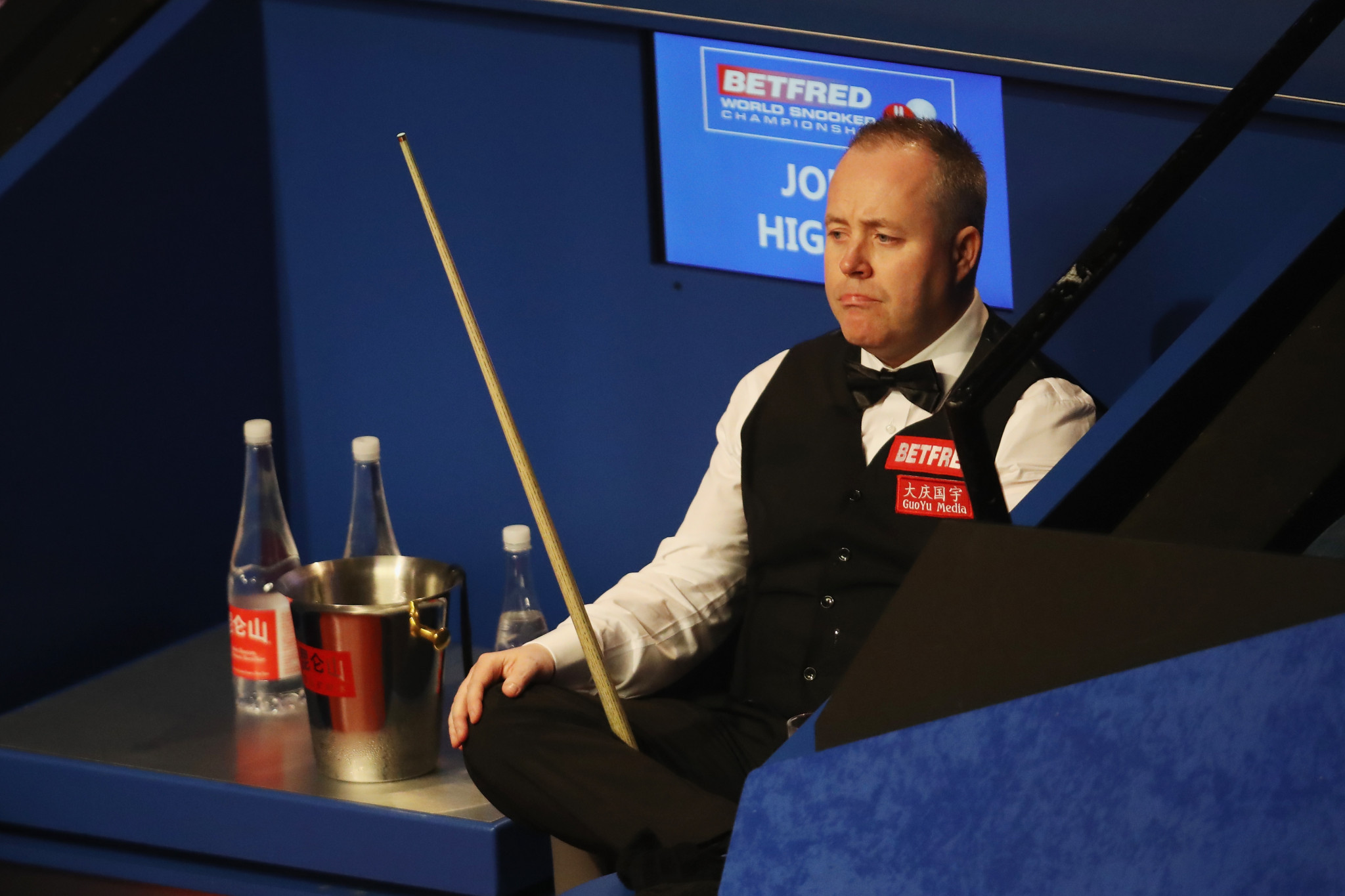 John Higgins is four frames away from a place in the final of the World Snooker Championship in Sheffield ©Getty Images