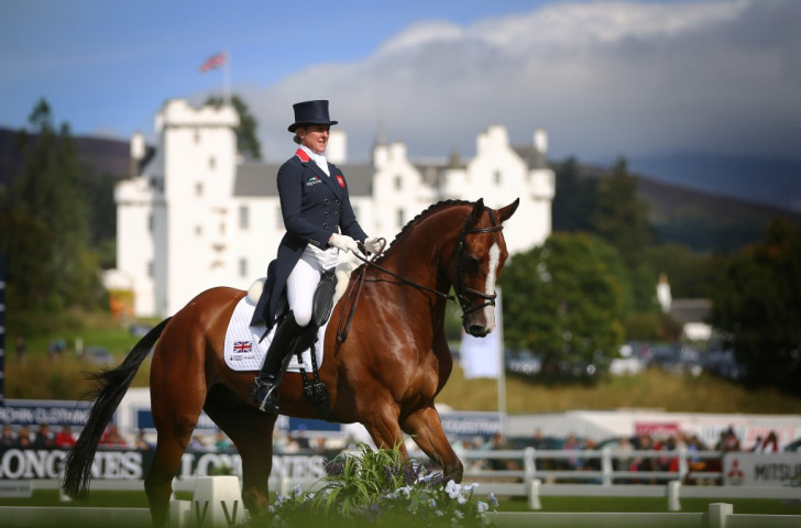 Hosts Britain top individual and team standings after opening day of European Eventing Championships