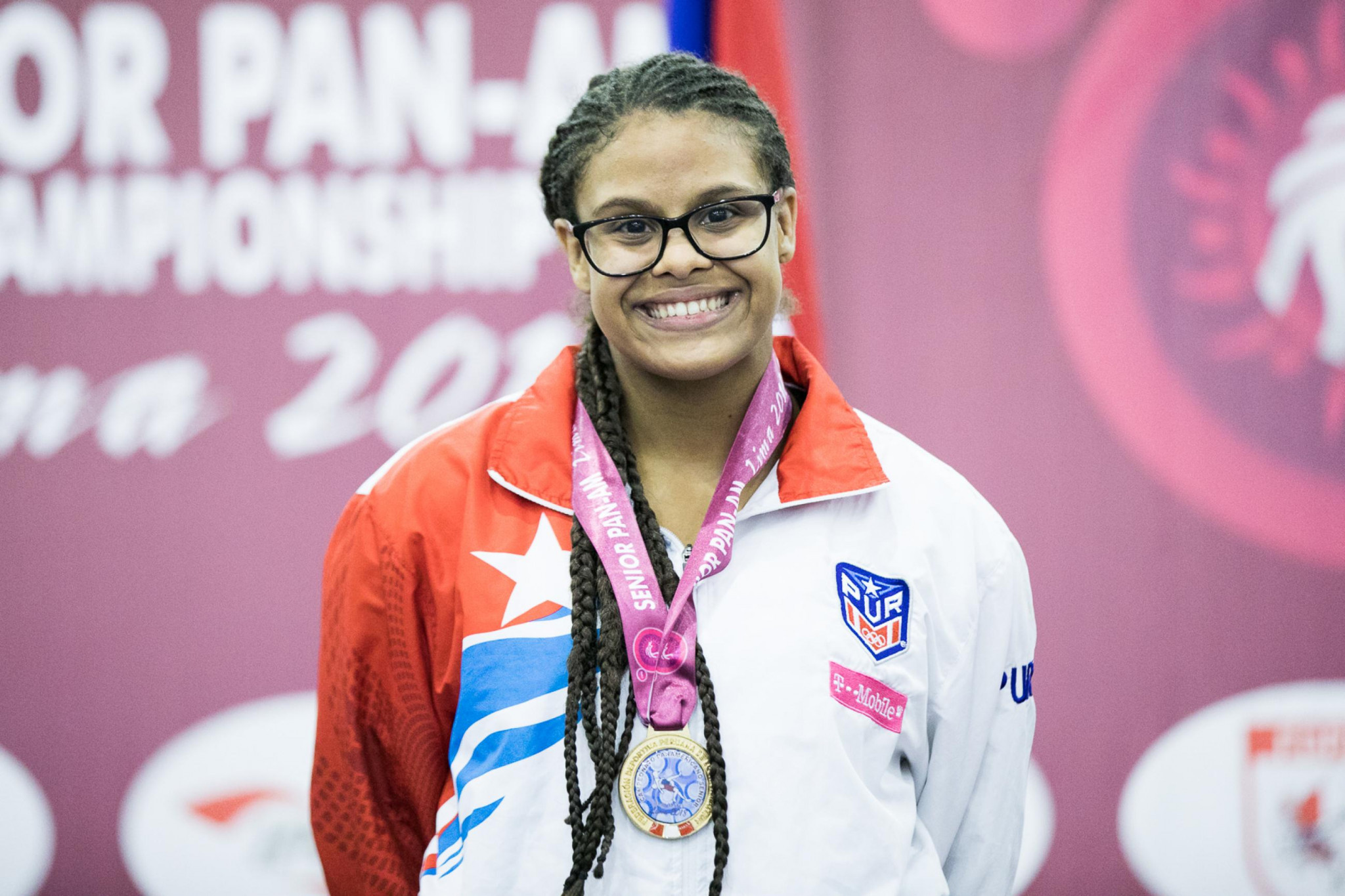 Andri Beth Belliard claimed gold for Puerto Rico in the women's 59kg event ©UWW