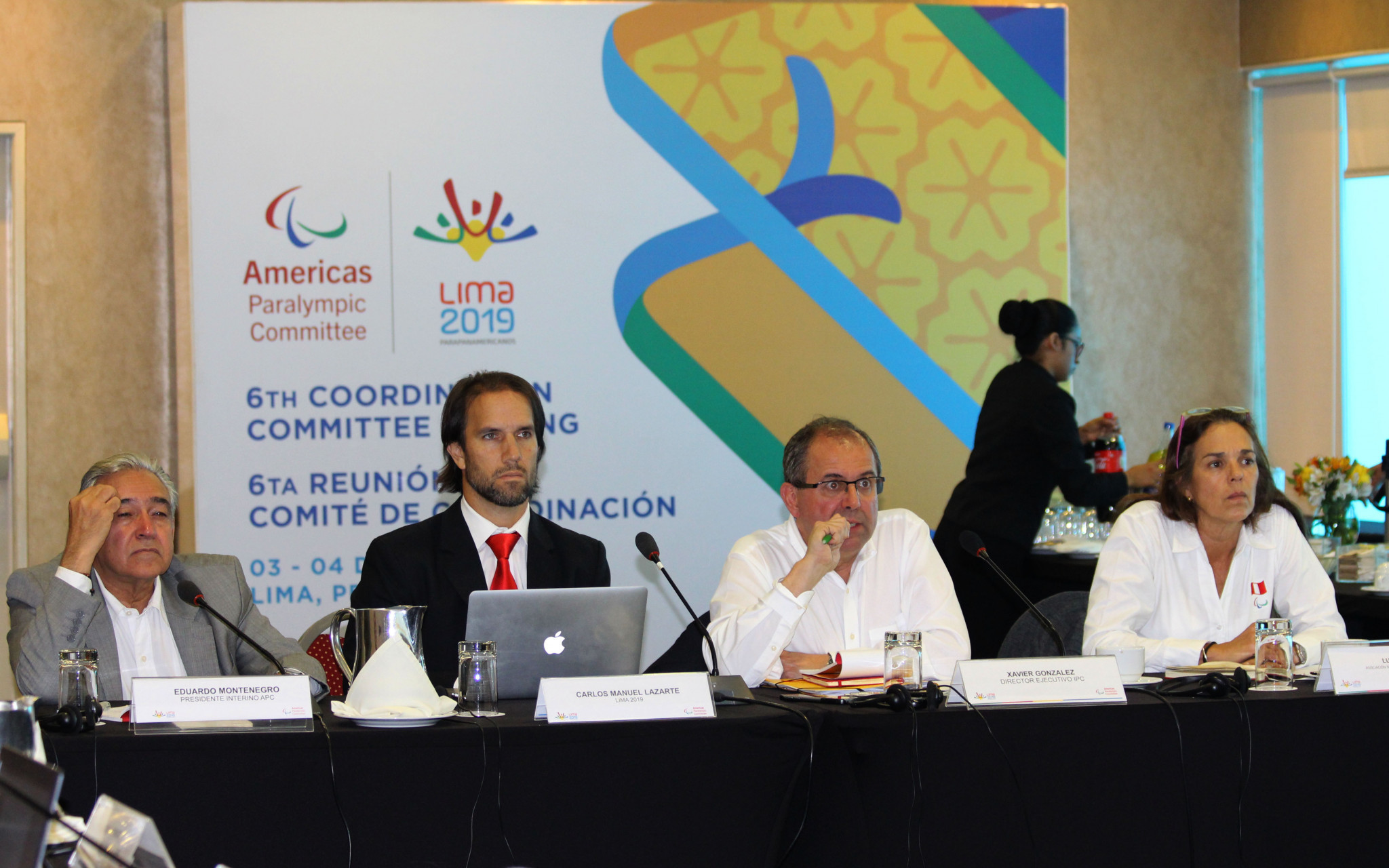 Paralympic officials inspected Lima 2019 progress during a Coordination Commission inspection ©Lima 2019