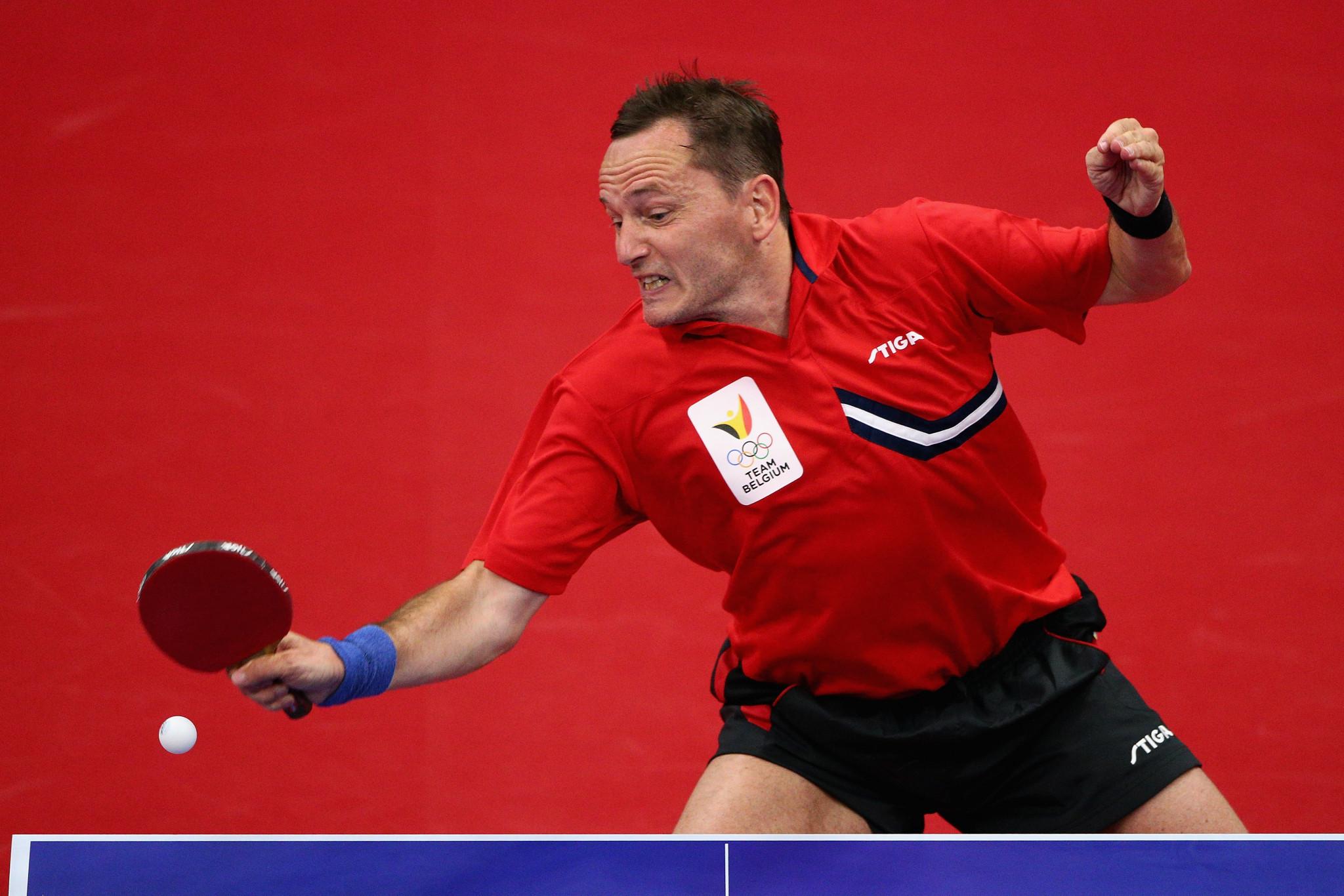 Saive leads quintet voted onto ITTF Athletes' Commission