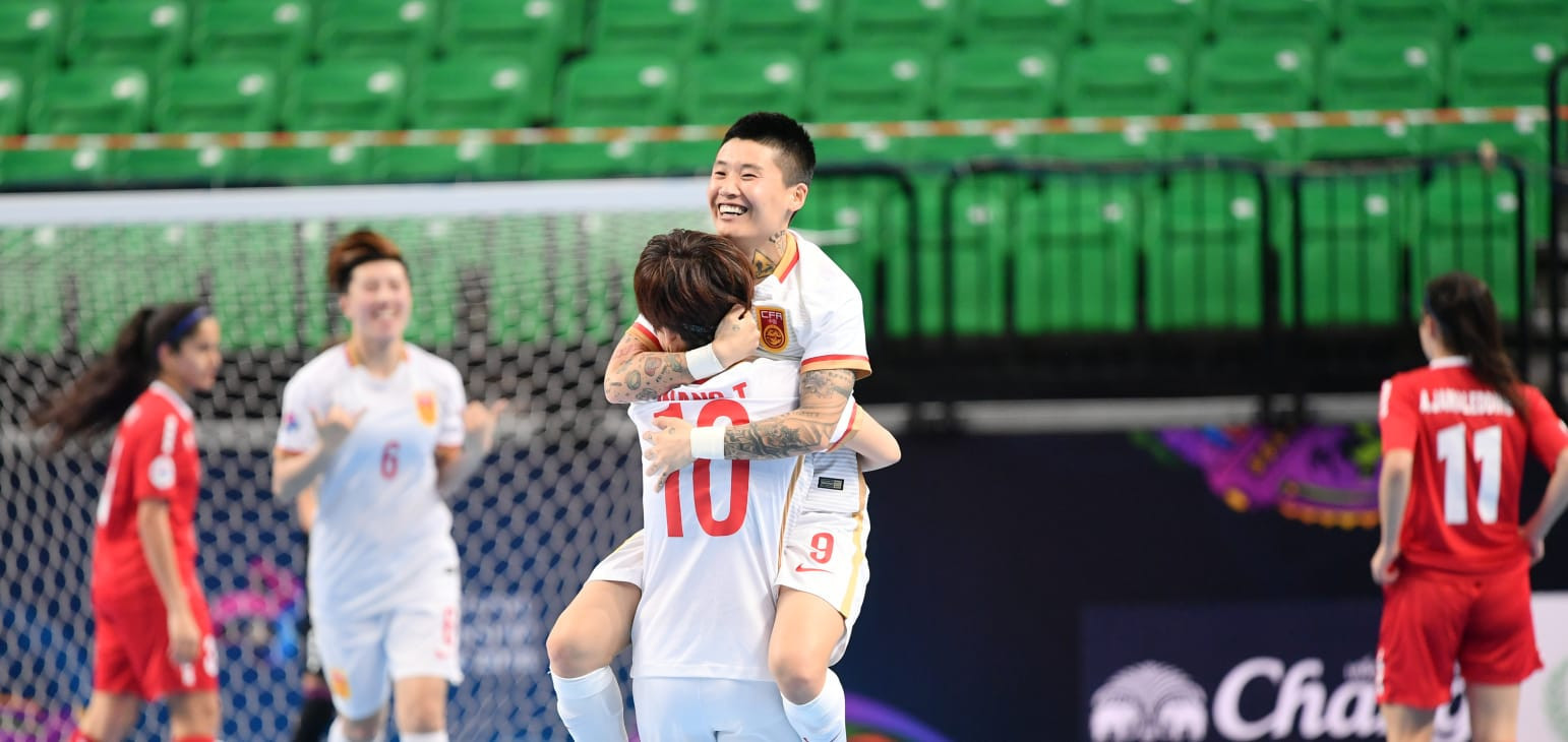 China and Japan reach knock-out stage at AFC Women's Futsal Championship