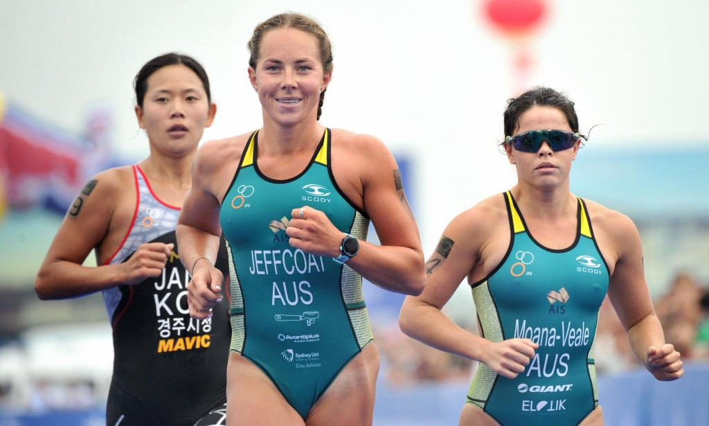 Jeffcoat eases into final of ITU World Cup competition in Chengdu