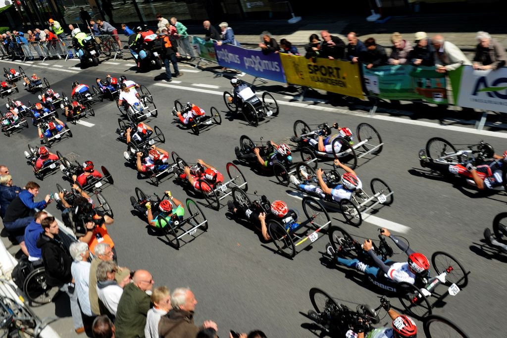 Action will conclude in the Belgian city tomorrow ©UCI